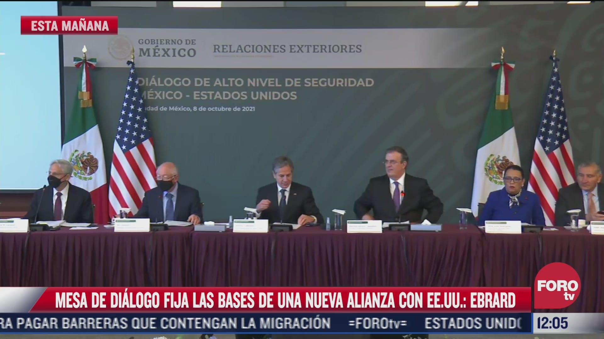 mexico y eeuu acuerdan nueva cooperacion en materia de seguridad