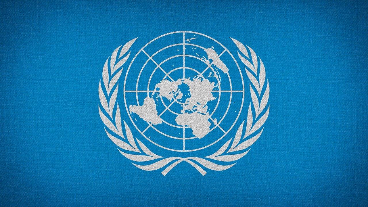 ONU, Naciones Unidas, aniversario, internacional, logotipo, bandera