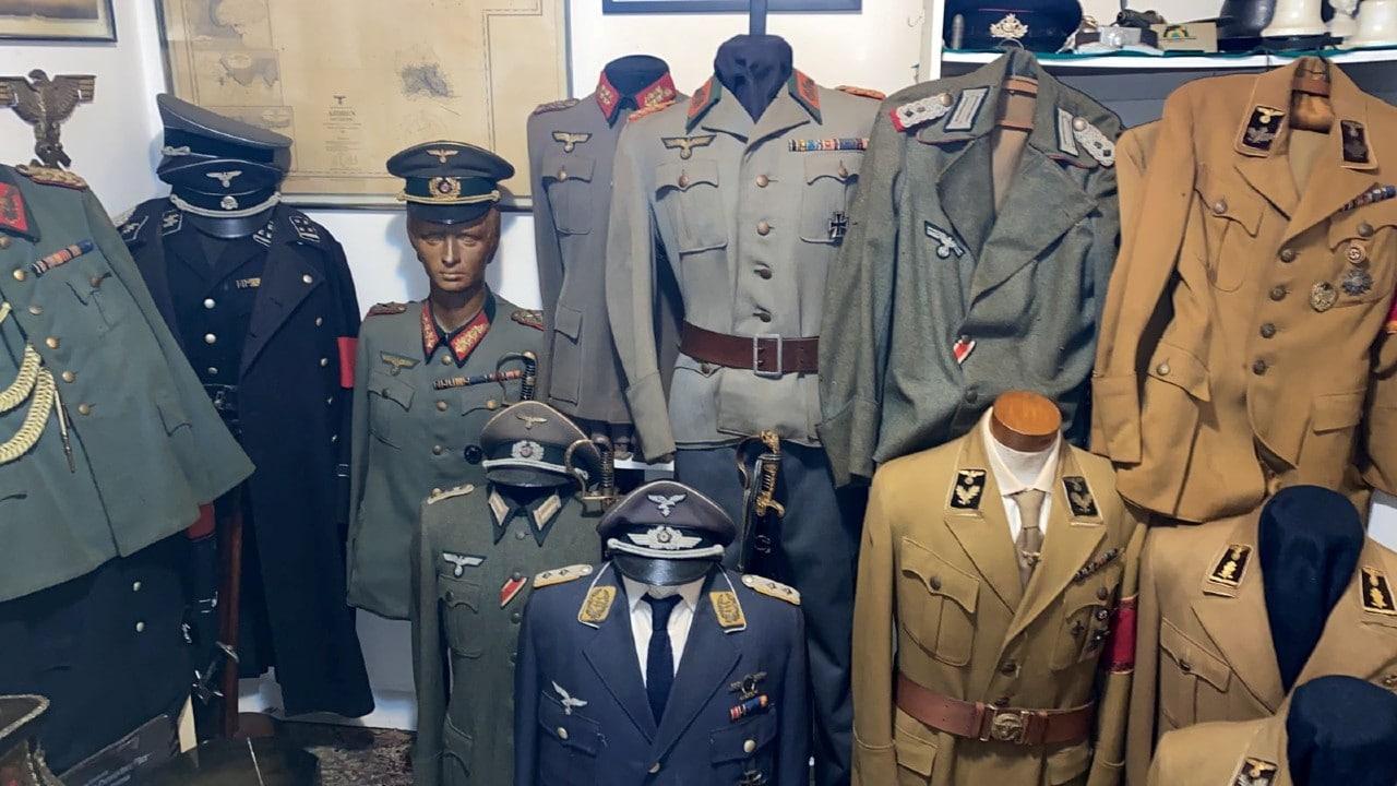 nazi, uniformes, nazismo, colección, Brasil