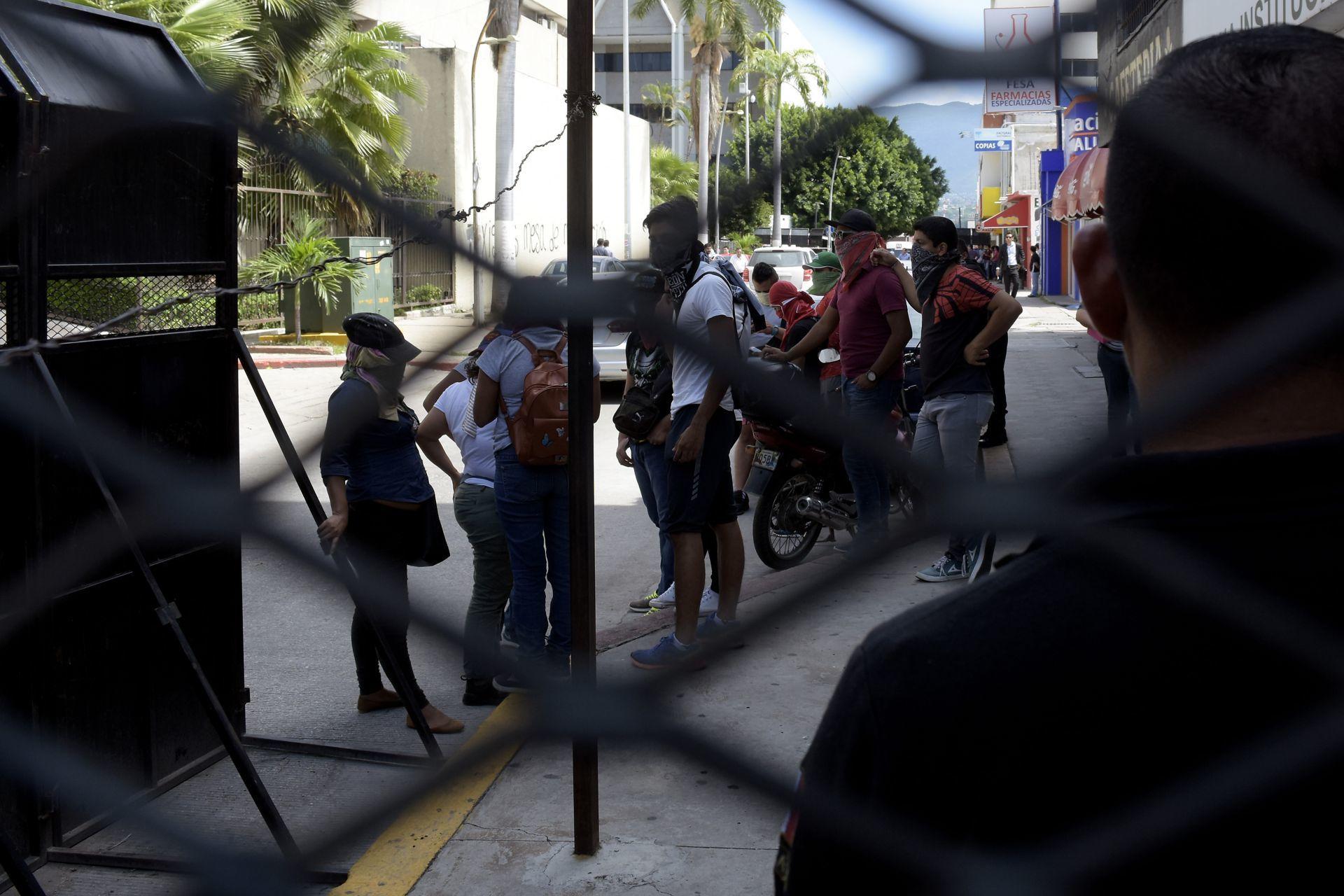 Normalistas en Chiapas (Cuartoscuro)