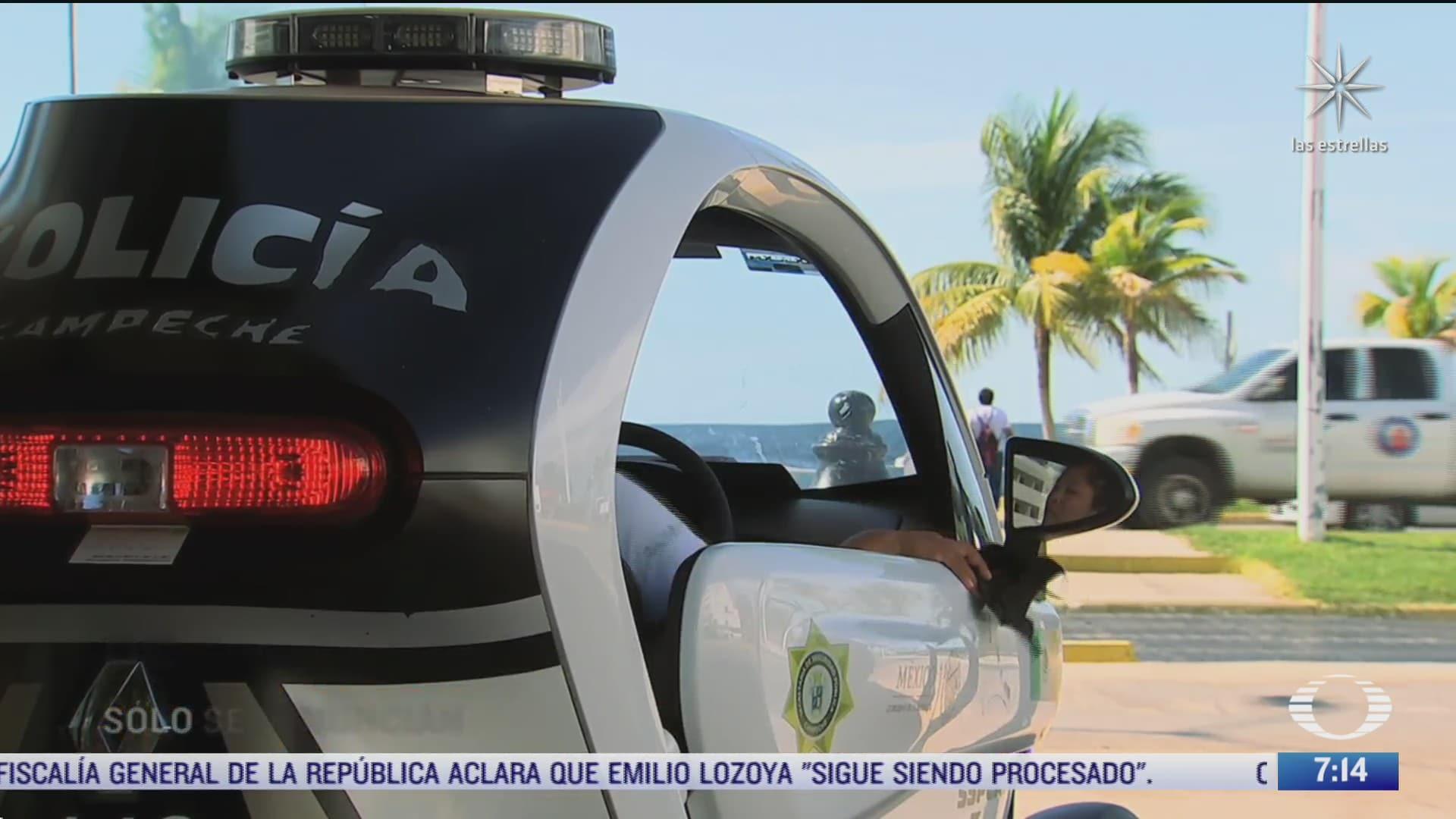 policias en campeche no realizan labores de seguridad
