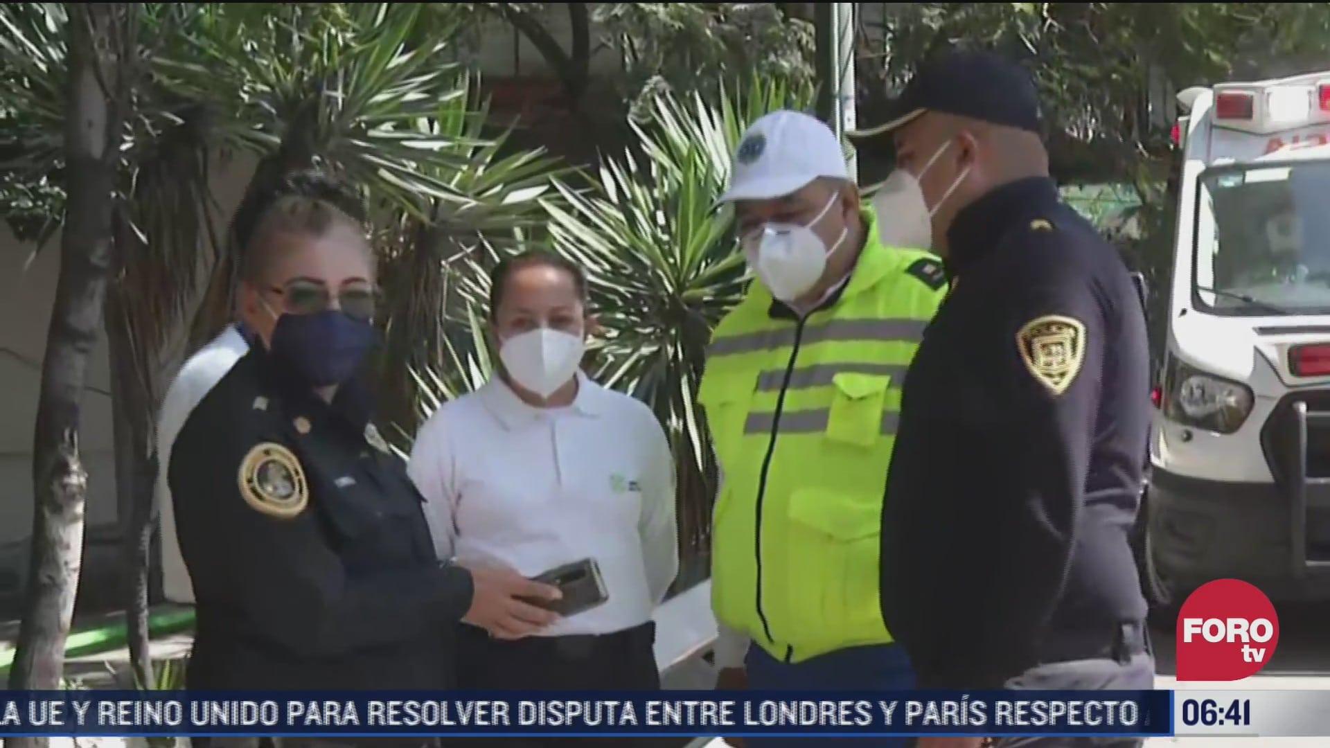 policias rescatan a bebe abandonado en alcaldia iztapalapa cdmx