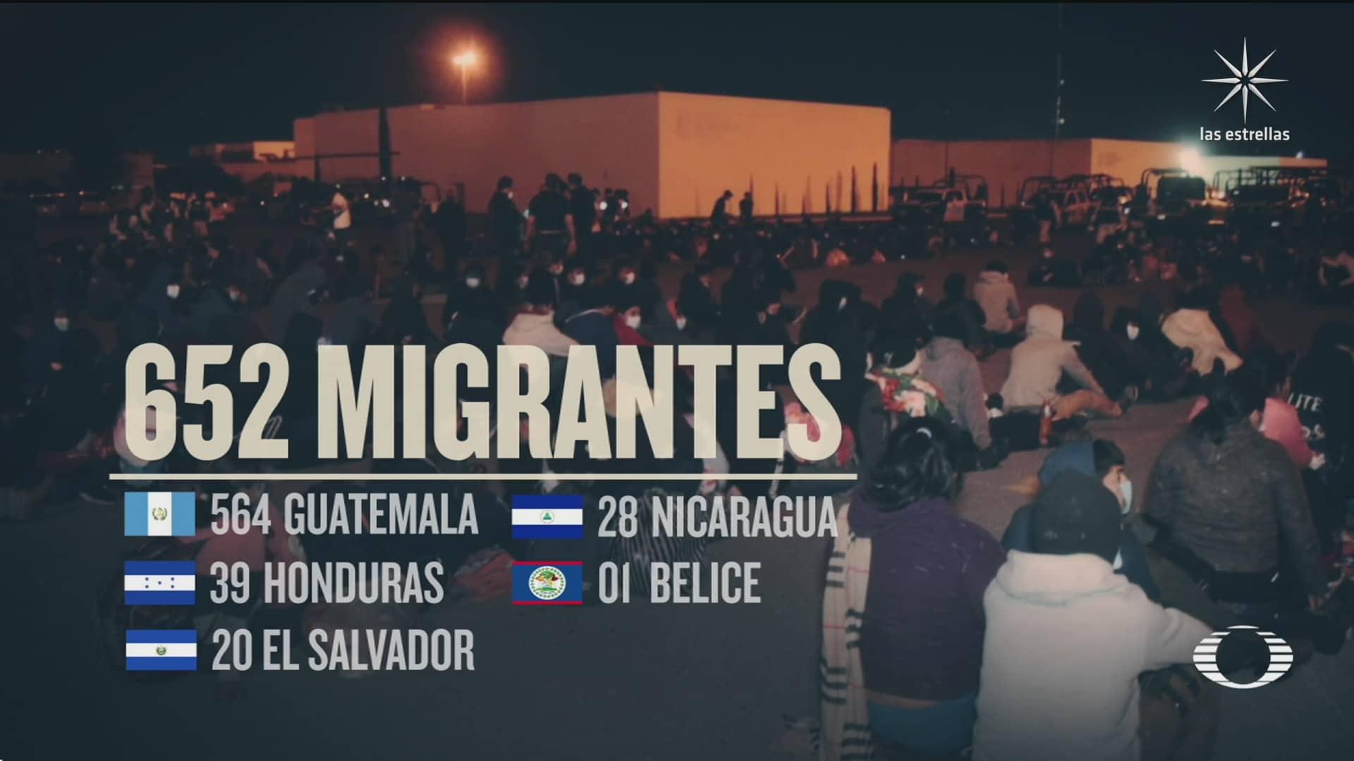 rescatan a cientos de migrantes en hidalgo tamaulipas