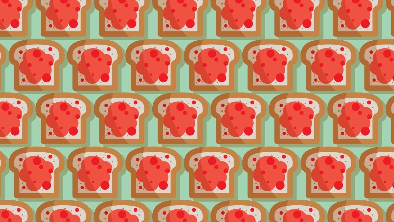 Encuentra los panes con jitomates