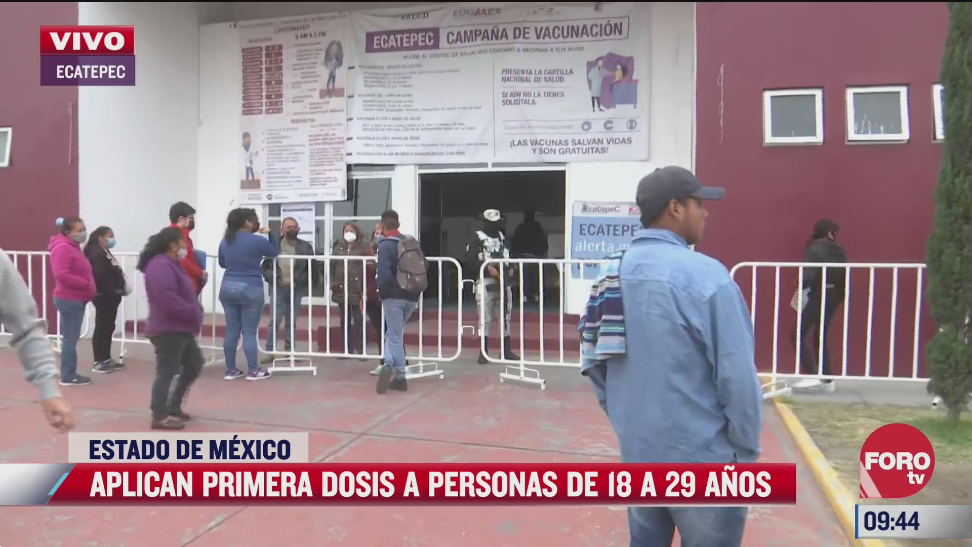 se aplica primera dosis a personas de 18 a 29 anos en ecatepec edomex