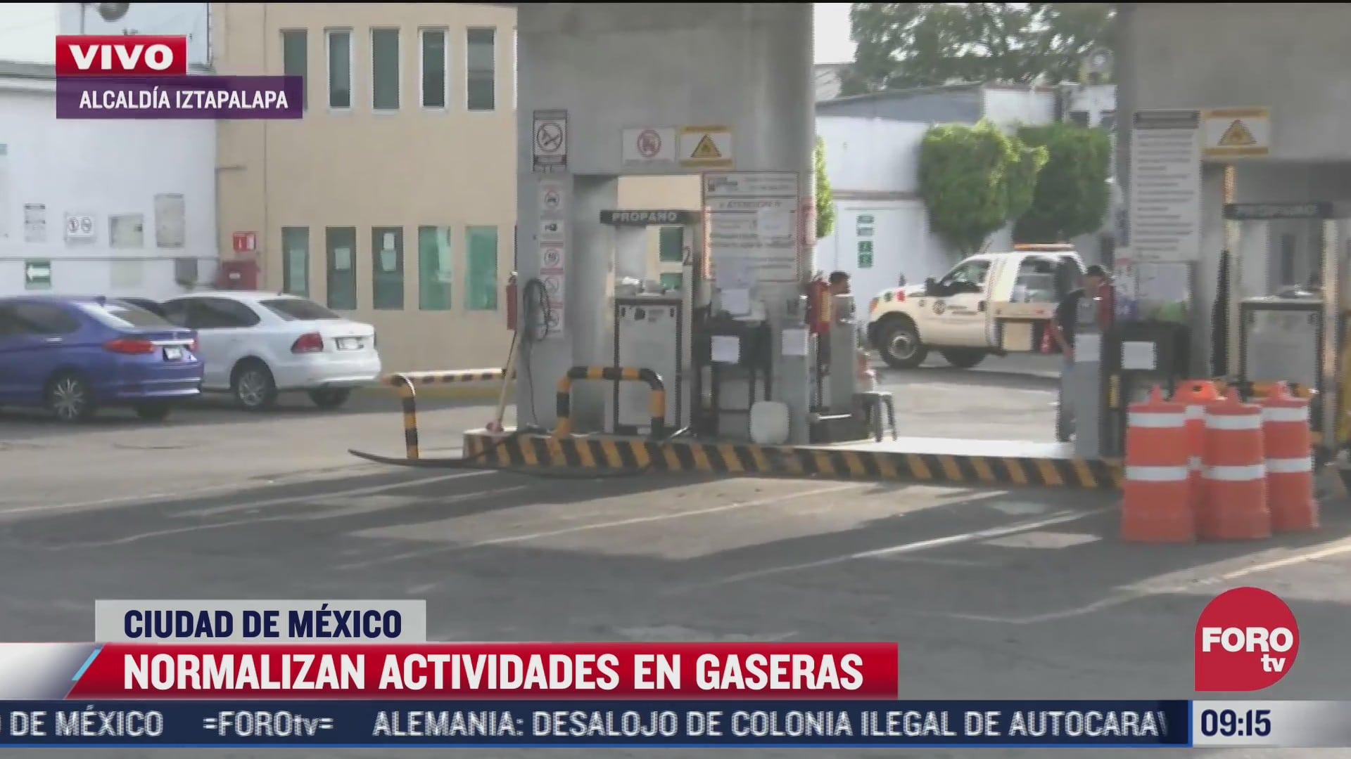 se normaliza venta de gas lp en el valle de mexico