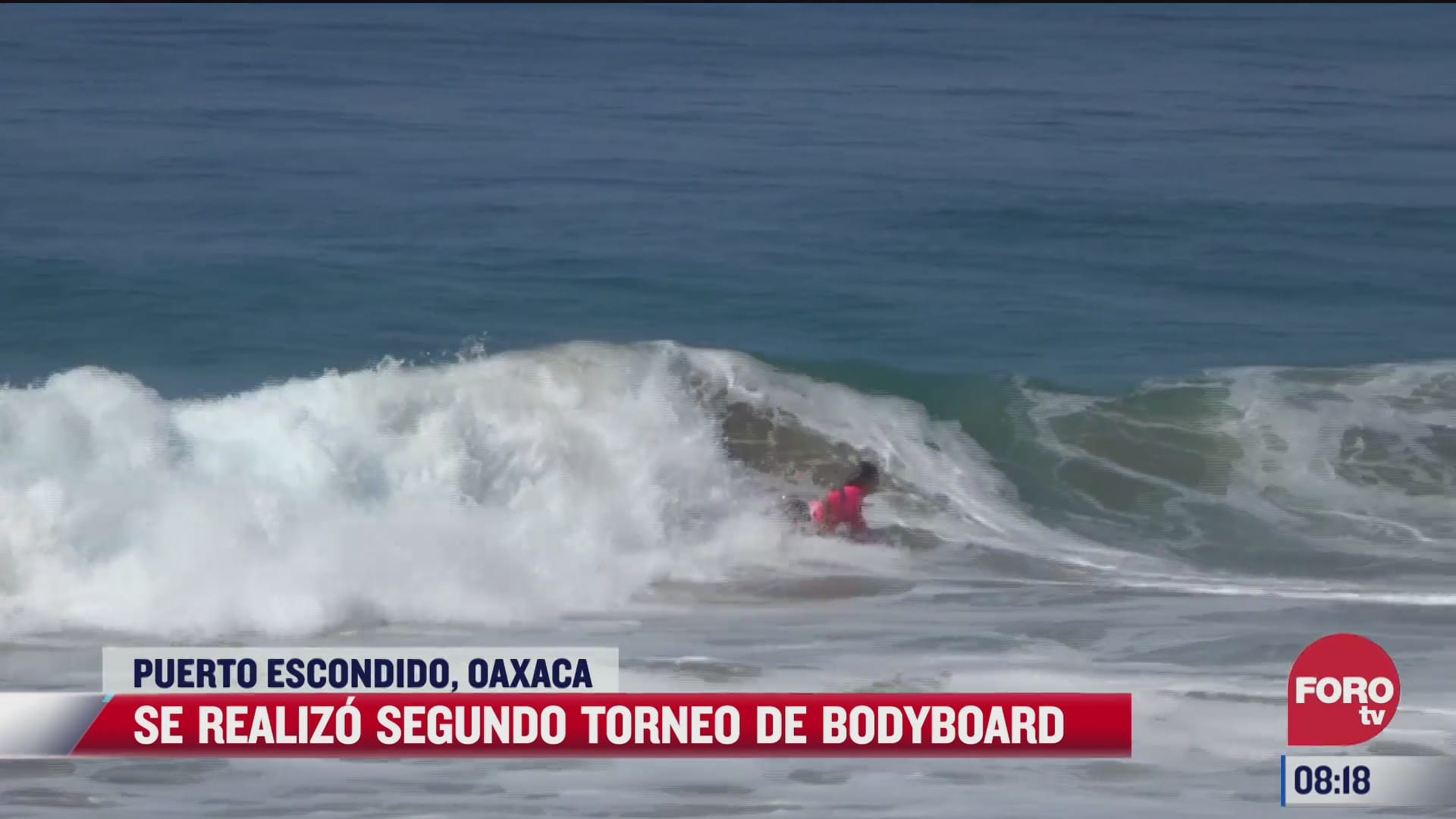 se realiza segundo torneo de bodyboard en puerto escondido oaxaca