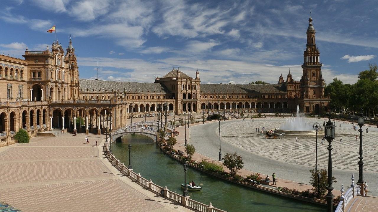 Sevilla, España, muro romano, arqueología, imagen ilustrativa