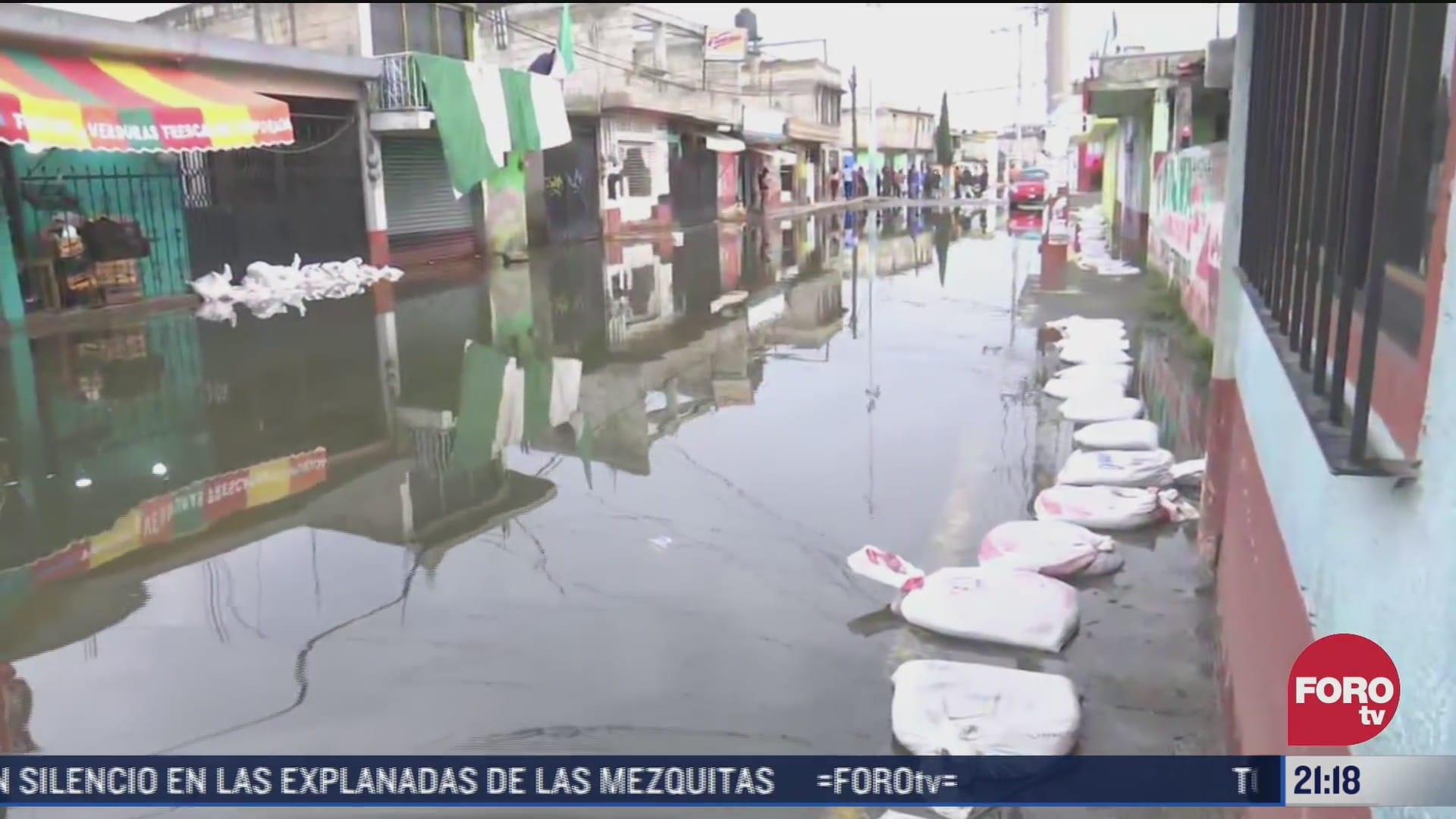 suman 280 casas afectadas en ocoyacac estado de mexico