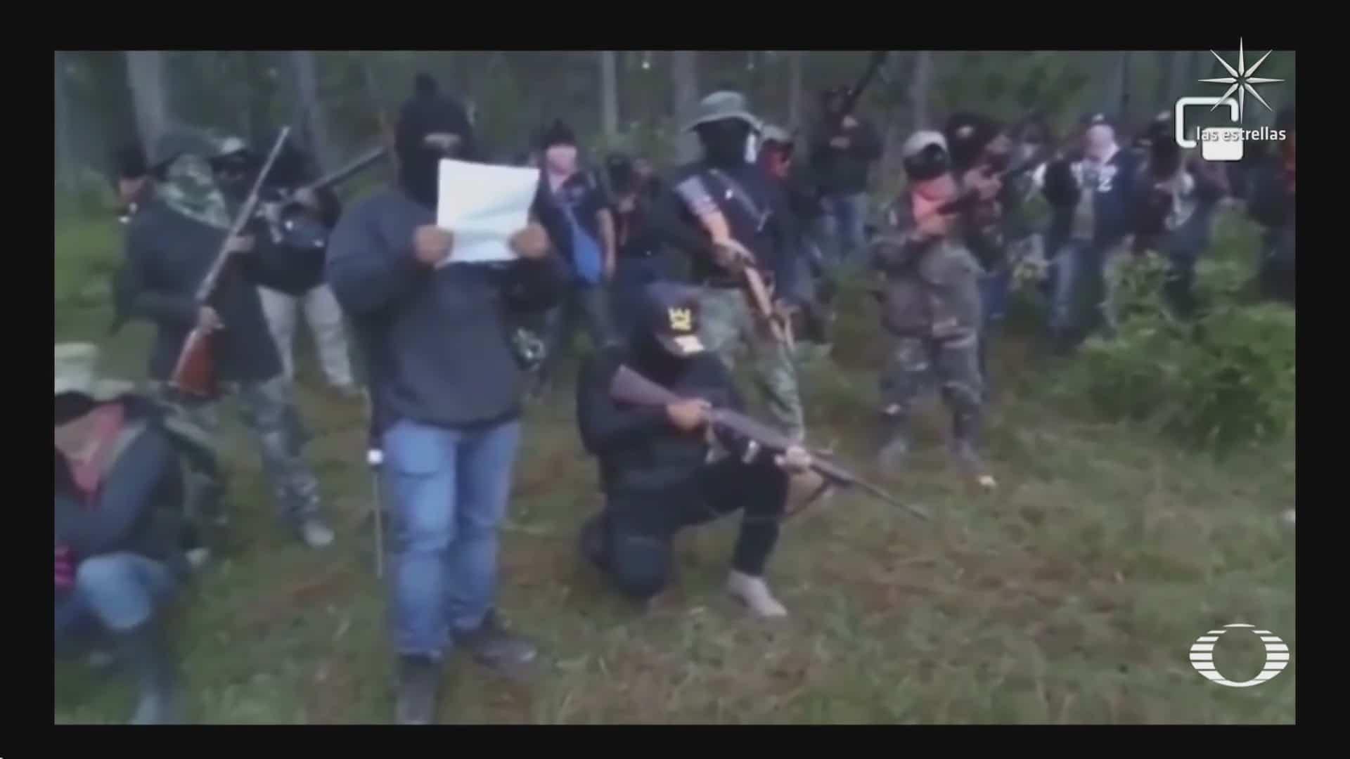 surgen varios grupos de autodefensas en chiapas