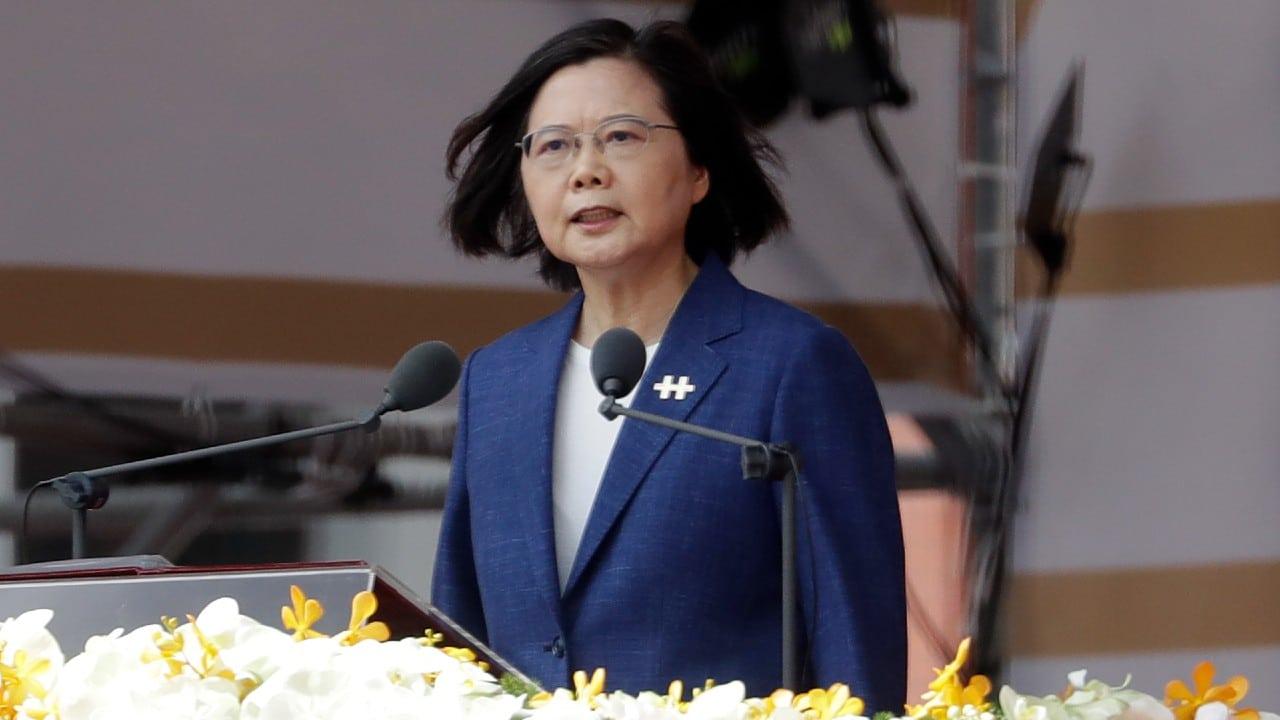 Taiwán no se verá obligado a doblegarse ante China, dice presidenta