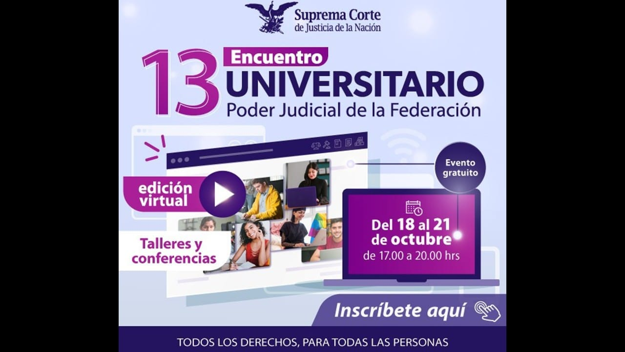 SCJN Talleres gratuitos estudiantes derecho