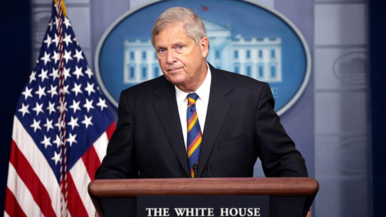 Fotografía del secretario de Agricultura estadounidense, Tom Vilsack