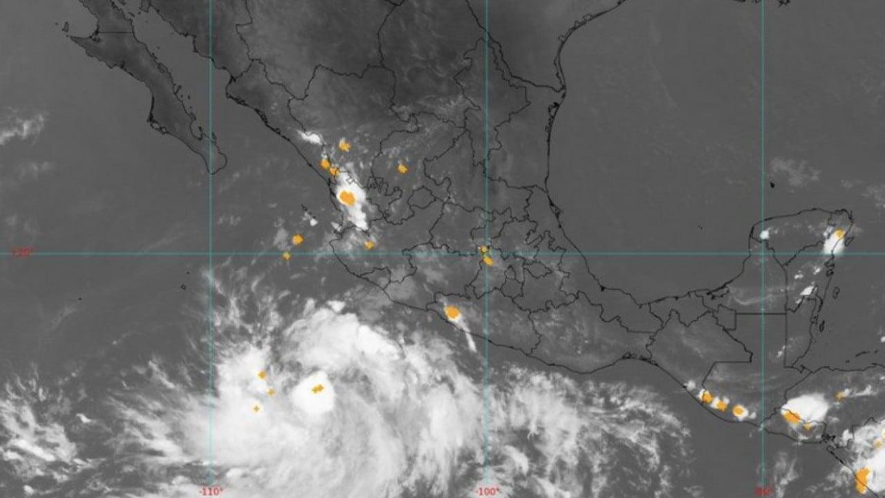 Tormenta tropical Pamela se forma frente a costas del Pacífico mexicano