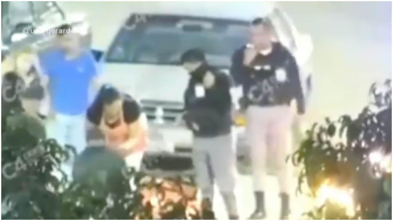 Video: Policía de Guanajuato salva la vida de hombre que sufría un infarto