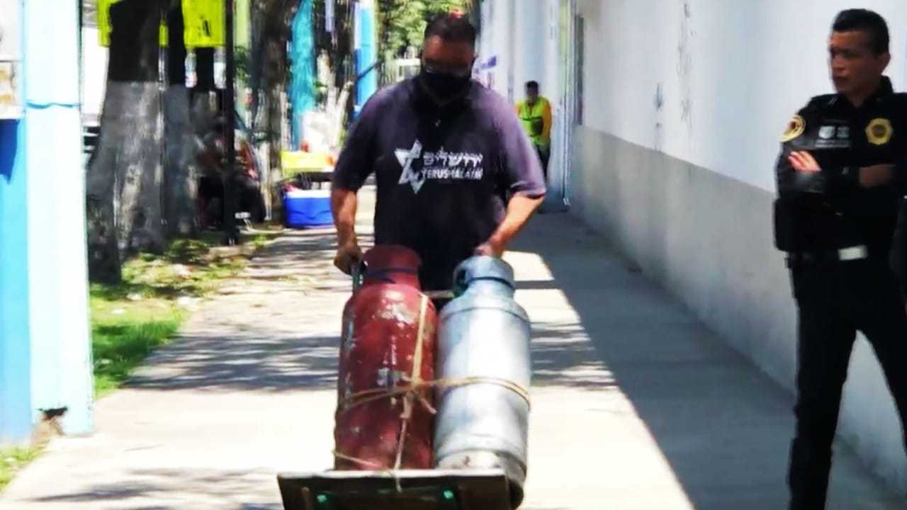 Paro de gaseros a medias: mientras unos hacían paro, otros daban el servicio en el Valle de México