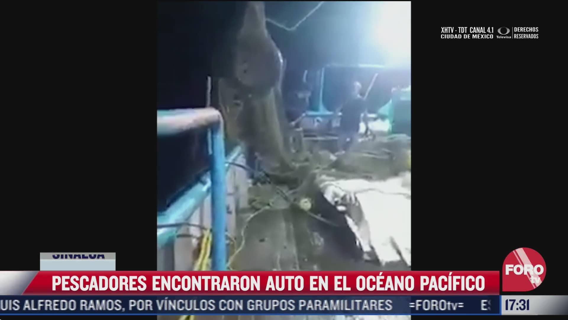 video pescadores de mazatlan se llevaron tremenda sorpresa tras pescar un automovil