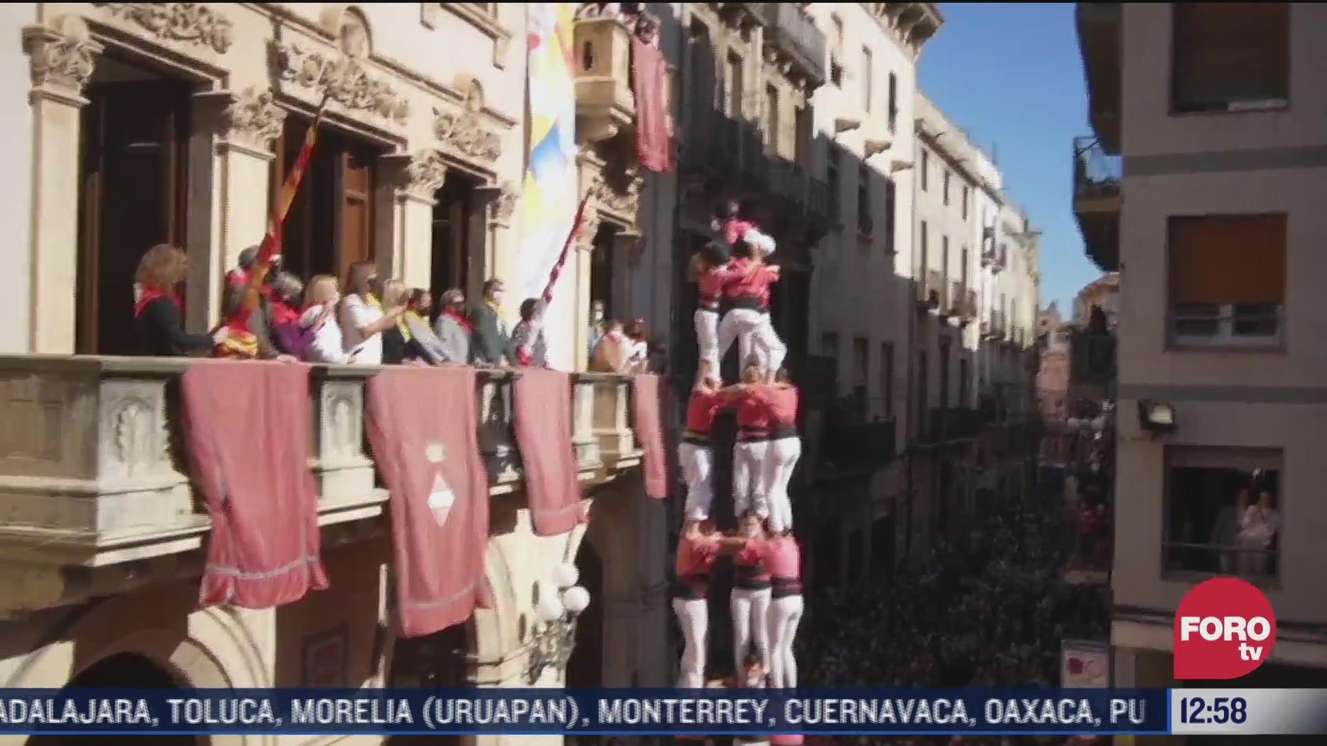 vuelven las torres humanas a barcelona