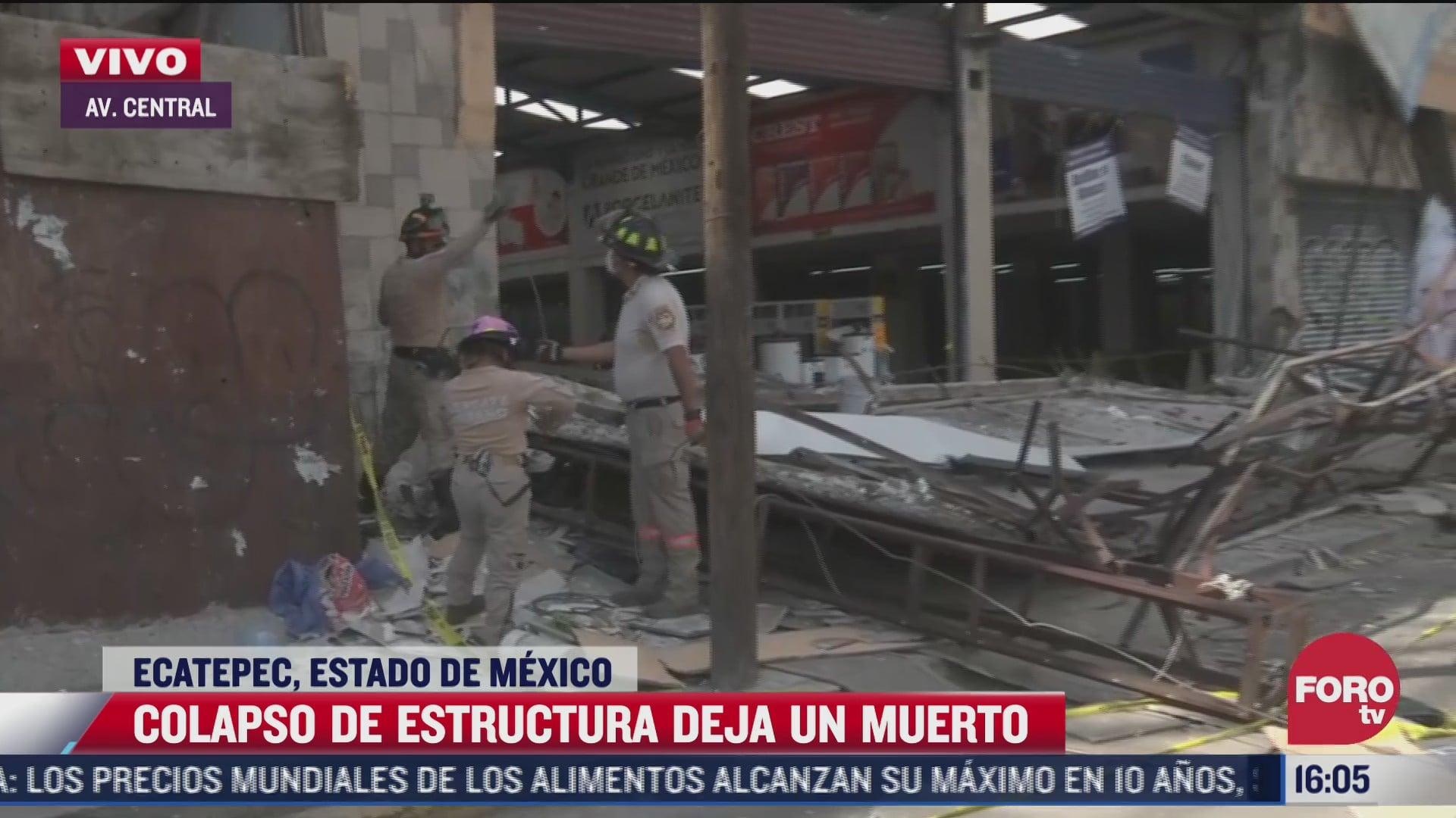 ya no pudimos hacer nada narra testigo despues de que barda cayera sobre hombre en ecatepec