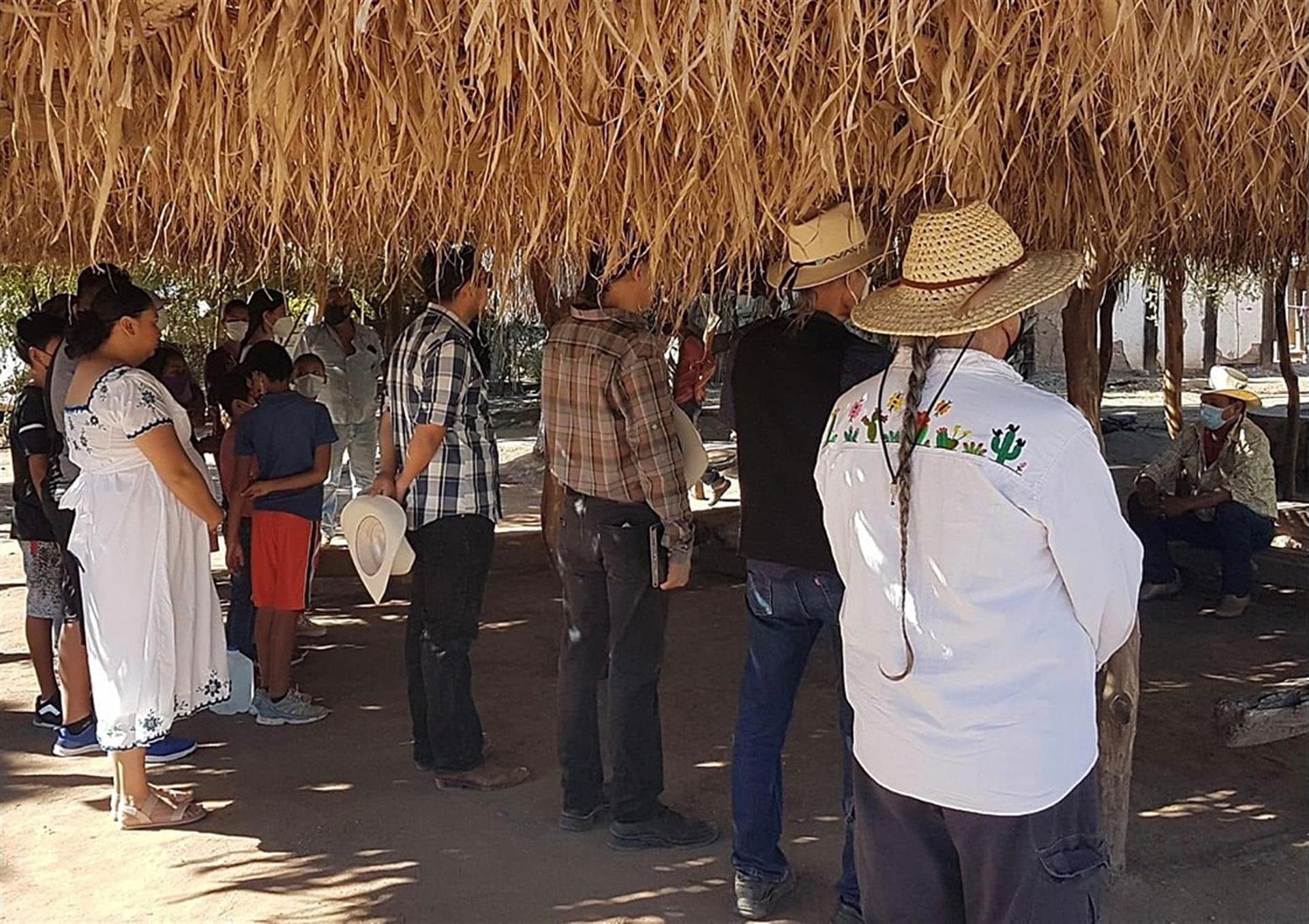 Yaquis organizan festival para exigir la cancelación del Acueducto Independencia en Sonora