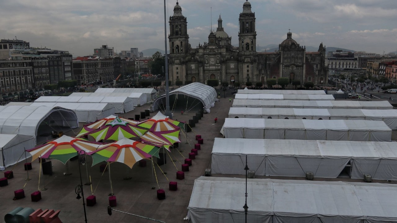 FIL Zócalo, Ferial del Libro, Zócalo capitalino, Centro Histórico, libros
